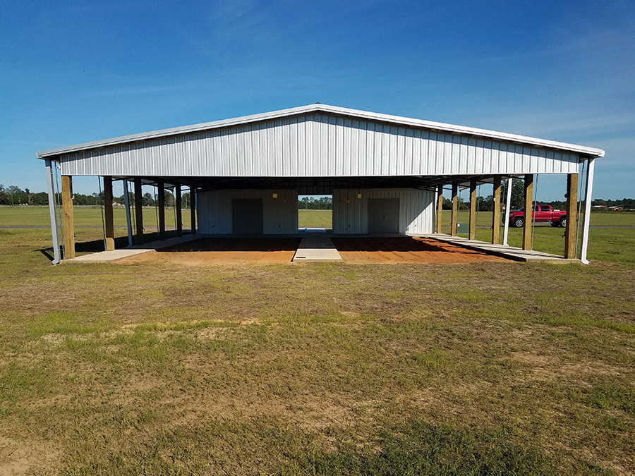 New 4-H Livestock Facility - Front View