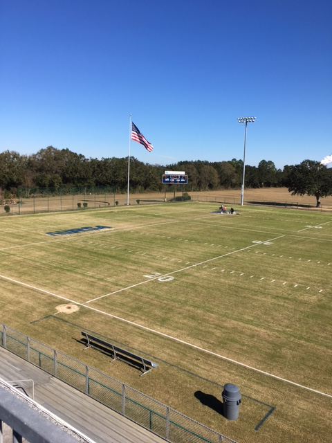 Football Field Maintained by Escambia County