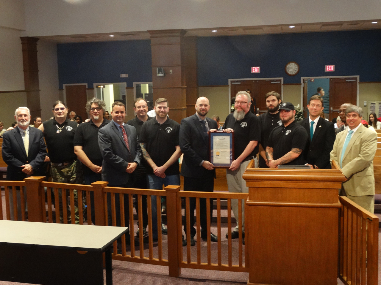 CountyCommissionerspresentaSeptember2015Proclamation