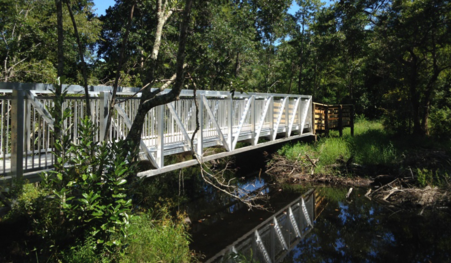Natural Resources Conservation - Fenced Bridge